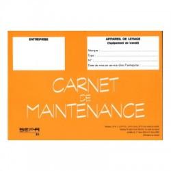 Carnet de maintenance